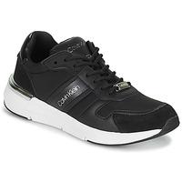 鞋子 女士 球鞋基本款 Calvin Klein Jeans FLEXRUNNER MIXED MATERIALS 黑色 / 银色