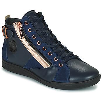 鞋子 女士 高帮鞋 Pataugas PALME 海蓝色 / 玫瑰色
