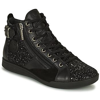 鞋子 女士 高帮鞋 Pataugas PALME 黑色 / 金色
