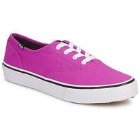 鞋子 女士 球鞋基本款 Keds DOUBLE DUTCH SEASONAL SOLIDS 玫瑰色