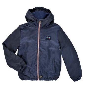 衣服 男孩 夹克 Schott WALTMAN 海蓝色