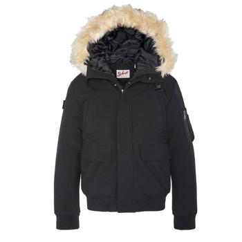 衣服 儿童 夹克 Schott WINTON 黑色