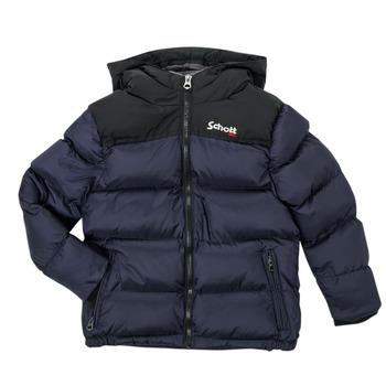 衣服 儿童 羽绒服 Schott UTAH 2 海蓝色