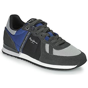 鞋子 男士 球鞋基本款 Pepe jeans TINKER ZERO TAPE 灰色 / 蓝色