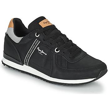 鞋子 男士 球鞋基本款 Pepe jeans TINKER ROAD 黑色