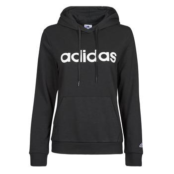 衣服 女士 卫衣 adidas Performance 阿迪达斯运动训练 WINLID 黑色
