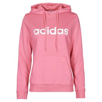 衣服 女士 卫衣 adidas Performance 阿迪达斯运动训练 WINLID 玫瑰色