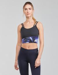 衣服 女士 文胸 adidas Performance 阿迪达斯运动训练 WUFORU 黑色