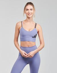 衣服 女士 文胸 adidas Performance 阿迪达斯运动训练 AMEBAR 紫罗兰