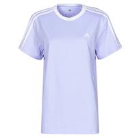 衣服 女士 短袖体恤 adidas Performance 阿迪达斯运动训练 WESBEF 紫罗兰