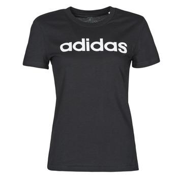衣服 女士 短袖体恤 adidas Performance 阿迪达斯运动训练 WELINT 黑色