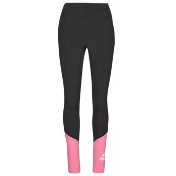衣服 女士 紧身裤 adidas Performance 阿迪达斯运动训练 WEBLETIG 黑色