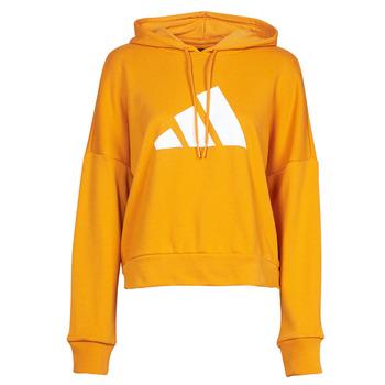 衣服 女士 卫衣 adidas Performance 阿迪达斯运动训练 WIFIEB HOODIE 橙色