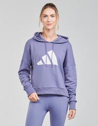 衣服 女士 卫衣 adidas Performance 阿迪达斯运动训练 WIFIEB HOODIE 紫罗兰