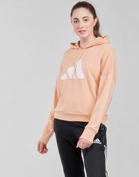 衣服 女士 卫衣 adidas Performance 阿迪达斯运动训练 WIFIEB HOODIE Blush