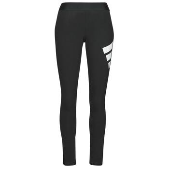衣服 女士 紧身裤 adidas Performance 阿迪达斯运动训练 WIFI 3B LEGGING 黑色