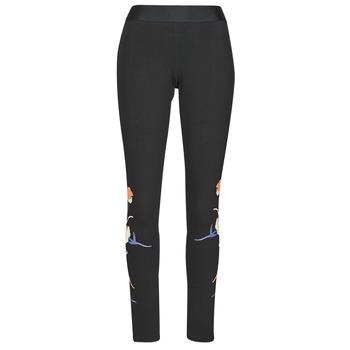 衣服 女士 紧身裤 adidas Performance 阿迪达斯运动训练 FLORL GFX TIGHT 黑色