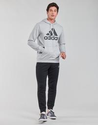 衣服 男士 厚套装 adidas Performance 阿迪达斯运动训练 M BL FT HD TS 灰色 / Moyen / 黑色
