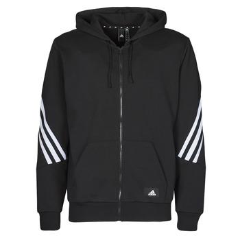 衣服 男士 运动款外套 adidas Performance 阿迪达斯运动训练 M FI 3S FZ 黑色