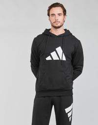 衣服 男士 卫衣 adidas Performance 阿迪达斯运动训练 M FI 3B HOODIE 黑色