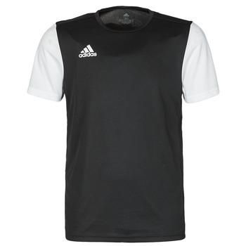 衣服 男士 短袖体恤 adidas Performance 阿迪达斯运动训练 ESTRO 19 JSY 黑色