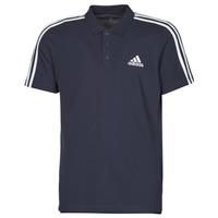 衣服 男士 短袖保罗衫 adidas Performance 阿迪达斯运动训练 M 3S PQ PS 黑色