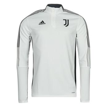 衣服 运动款外套 adidas Performance 阿迪达斯运动训练 JUVE TR TOP 白色 / Essentiel