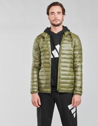 衣服 男士 羽绒服 adidas Performance 阿迪达斯运动训练 VARILITE JACKET 橄榄色