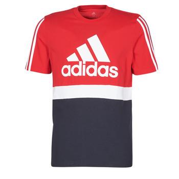 衣服 男士 短袖体恤 adidas Performance 阿迪达斯运动训练 M CB T 红色