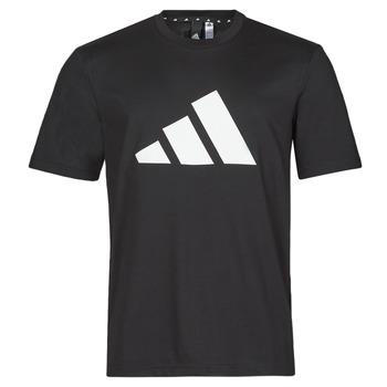 衣服 男士 短袖体恤 adidas Performance 阿迪达斯运动训练 M FI 3B TEE 黑色
