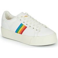 鞋子 女士 球鞋基本款 Gola ORCHID PLATFORM RAINBOW 白色 / 多彩