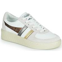 鞋子 女士 球鞋基本款 Gola GRANDSLAM TRIDENT METALLIC 米色 / 金色