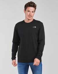 衣服 男士 长袖T恤 The North Face 北面 L/S EASY TEE 黑色