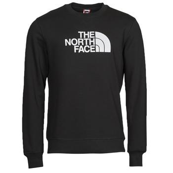衣服 男士 卫衣 The North Face 北面 DREW PEAK CREW 黑色 / 白色