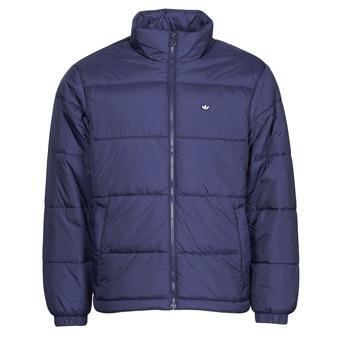衣服 男士 羽绒服 Adidas Originals 阿迪达斯三叶草 PAD STAND PUFF 天蓝 / De / Nuit