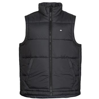 衣服 男士 羽绒服 Adidas Originals 阿迪达斯三叶草 PADDED VEST 黑色