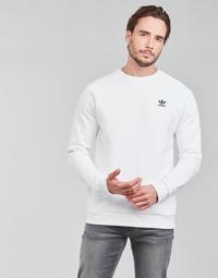 衣服 男士 卫衣 Adidas Originals 阿迪达斯三叶草 ESSENTIAL CREW 白色