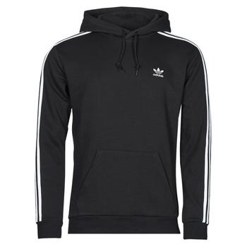 衣服 男士 卫衣 Adidas Originals 阿迪达斯三叶草 3-STRIPES HOODY 黑色