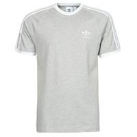 衣服 男士 短袖体恤 Adidas Originals 阿迪达斯三叶草 3-STRIPES TEE 灰色 / Moyen