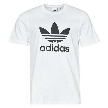 衣服 男士 短袖体恤 Adidas Originals 阿迪达斯三叶草 TREFOIL T-SHIRT 白色