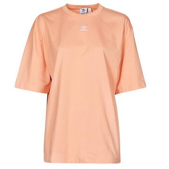 衣服 女士 短袖体恤 Adidas Originals 阿迪达斯三叶草 TEE Blush