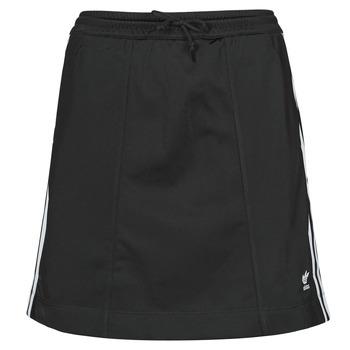 衣服 女士 半身裙 Adidas Originals 阿迪达斯三叶草 SKIRT 黑色