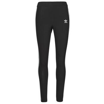衣服 女士 紧身裤 Adidas Originals 阿迪达斯三叶草 3 STRIPES TIGHT 黑色