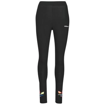 衣服 女士 紧身裤 Adidas Originals 阿迪达斯三叶草 TIGHTS 黑色