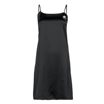 衣服 女士 短裙 Adidas Originals 阿迪达斯三叶草 DRESS 黑色