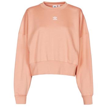 衣服 女士 卫衣 Adidas Originals 阿迪达斯三叶草 SWEATSHIRT Blush