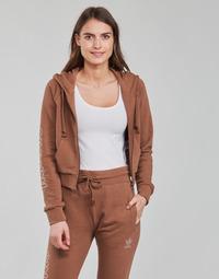 衣服 女士 卫衣 Adidas Originals 阿迪达斯三叶草 CROPPED TT 棕色