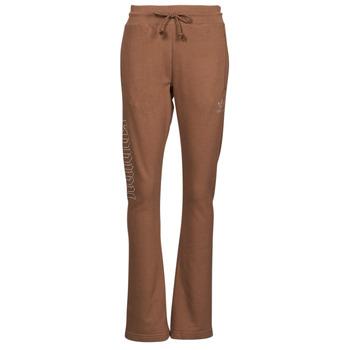 衣服 女士 厚裤子 Adidas Originals 阿迪达斯三叶草 OPEN HEM TP 棕色
