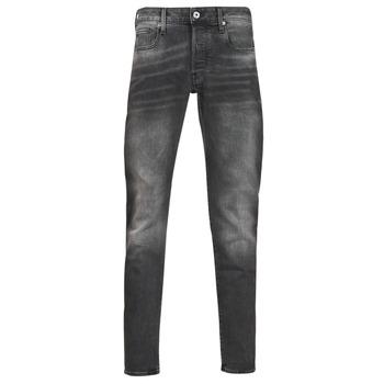衣服 男士 紧身牛仔裤 G-Star Raw 3301 SLIM 灰色