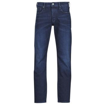 衣服 男士 直筒牛仔裤 G-Star Raw 3301 STRAIGHT 蓝色